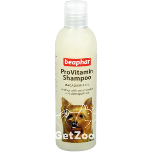 Beaphar ProVitamin Shampoo Macadamia Oil Шампунь для собак с чувствительной кожей
