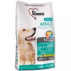 1st Choice Light Низкокалорийный сухой корм для собак с избыточным весом