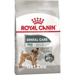 Сухой корм для собак мини пород Royal Canin Mini Dental Care от зубного камня и налета