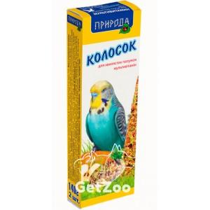 Колосок для попугая мультивитамин 140г