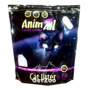 AnimAll Premium силикагелевый наполнитель Фиолетовый аметист 7,6 л