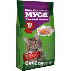 Муся Сухой корм Классик для кошек, 10 кг