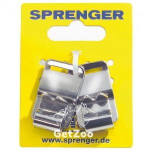 Sprenger NECK-TECH SPORT звено с шипами для пластинчатого ошейника для собак,2 шт, 3 см, нержавеющая сталь