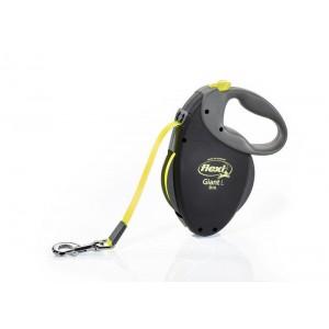 Flexi New Giant L Tape Поводок-рулетка для собак до 50 кг, ремень, 8 метров