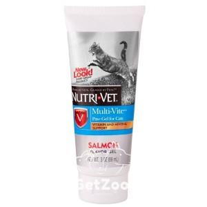 Nutri-Vet Multi-Vite Витаминно-минеральный гель для кошек, 89 мл