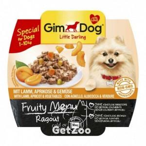 GimDog Ягненок, абрикос, овощи консервы для собак