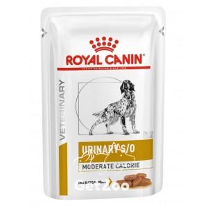 Royal Canin Urinary S/O Canine Moderate Calorie Влажный корм для собак с мочекаменной болезнью 100 г