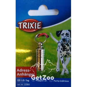 Trixie Адресовка-капсула металлическая