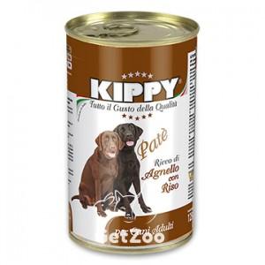 Kippy Киппи Ягнёнок и рис паштет для собак