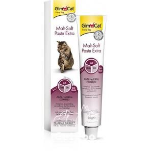 GimCat Malt-Soft Paste Extra Паста для вывода шерсти для кошек