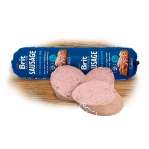 Brit Premium Dog Sausage CHICKEN & LAMB колбаса с курицей и ягненком для собак, 800 г