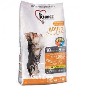1st Choice TOY & SMALL Breeds сухой корм для собак миниатюрных и малых пород с курицей