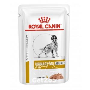 Royal Canin Urinary S/O Canine Ageing 7+ Влажный корм для собак старше 7 лет с мочекаменной болезнью паштет 85 г
