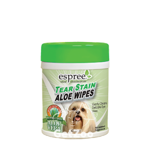 Espree Tear Stain Wipes Влажные салфетки для ухода за глазами собак и кошек