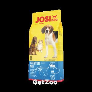 Josera JosiDog Master Mix Сухой корм для взрослых собак 15 кг + 3 кг в подарок!