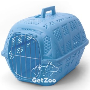 Imac Carry Sport АЙМАК КЭРРИ СПОРТ переноска для собак и кошек, пластик, 48,5х32х34,5 см цвет голубой