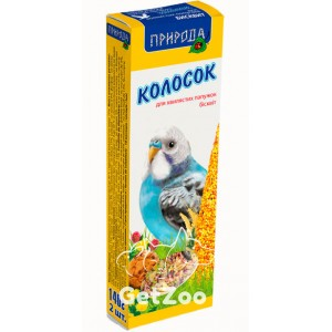 Колосок для попугая бисквит 140г