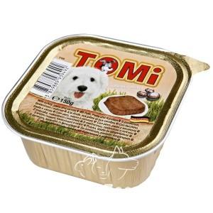 TOMi Паштет с индейкой, пастой и морковью для собак, 150 г