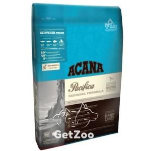 Acana Pacifica Сухой корм с лососем, камбалой и сельдью для собак всех пород и возрастов