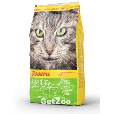 Josera SensiCat Сухой корм с уткой для кошек с чувствительным пищеварением