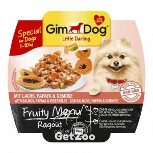 GimDog Лосось, папайя, овощи консервы для собак