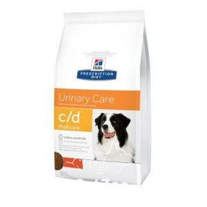 Hill's (Хиллс) C/D Сухой корм при рецидивах мочекаменной болезни у собак