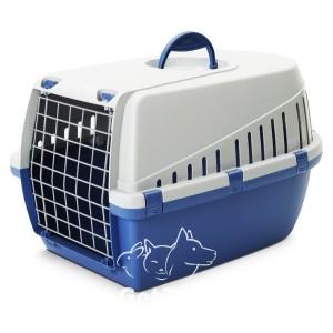 Savic ТРОТТЭР3 (Trotter3) переноска для собак, пластик, цвет ярко-голубой