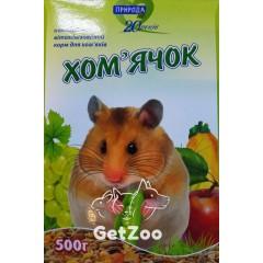 Природа Корм для хомяков, 500 г