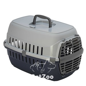 Moderna РОУД-РАННЕР 1 Переноска для собак и кошек, с пластиковой дверью, 51х31х34 см