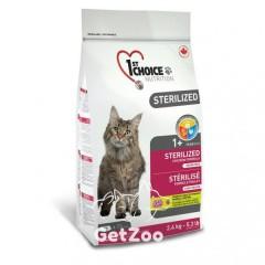 1st Choice Sterilized Chicken Сухой корм для кастрированных и стерилизованных кошек