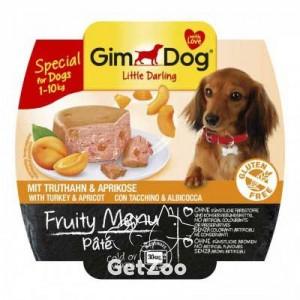 GimDog Индейка и абрикос консервы для собак
