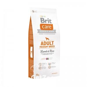 Brit Care Adult Medium Breed Lamb & Rice Сухой корм с ягнёнком и рисом для собак средних пород