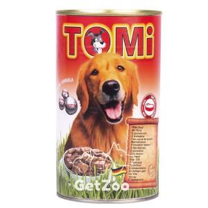 TOMi (ТОМи) Консерва ГОВЯДИНА для собак, 1,2 кг