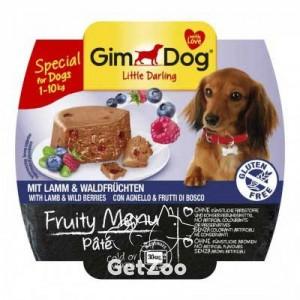GimDog Ягнёнок и лесные ягоды консервы для собак
