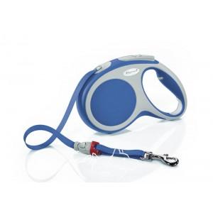 Flexi VARIO L Tape Поводок-рулетка для собак до 50 кг, лента, 8 метров
