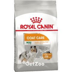 Сухой корм для собак мини пород с тусклой и сухой шерстью Royal Canin Mini Coat Care