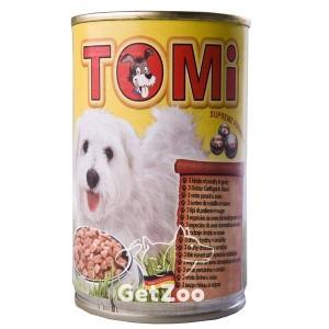 TOMi ТОМи Консерва 3 ВИДА ПТИЦЫ для собак, 1,2 кг