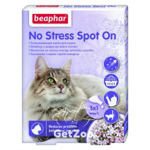 Beaphar (Беафар) No Stress Spot On cat Капли от стресса для кошек, 1 пипетка