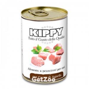 Kippy Киппи Паштет с кусочками мяса ягнёнка консервы для собак, 400 г