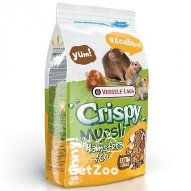 Versele-Laga Crispy Muesli Hamster зерновая смесь корм для хомяков, крыс, мышей, песчанок