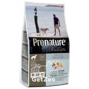 Pronature Holistic Атлантический лосось и коричневый рис Сухой корм для собак