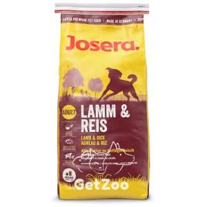 Josera Lamb and Rice Сухой корм с ягнёнком для взрослых собак 15 кг