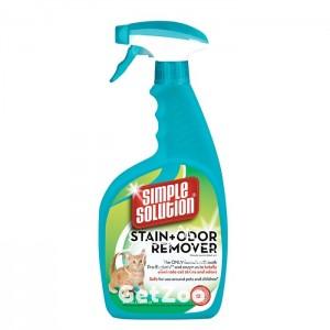 Simple Solution Cat Stain and Odor Remover для удаления запахов и пятен, 945 мл
