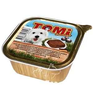 TOMi Паштет с курицей для щенков, 150 г