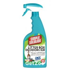 Simple Solution Cat Litter box deodorizer средство  для чистки и устранения запахов в кошачьих туалетах, 945 мл