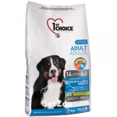 1st Choice Medium & Large Breeds Cухой корм c курицей для собак средних и крупных пород