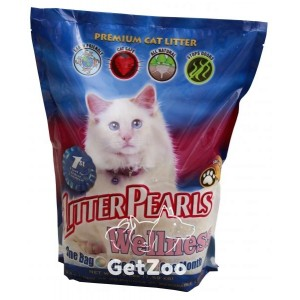 Litter Pearls Wellness Кварцевый наполнитель для туалетов кошек, 3,4 л