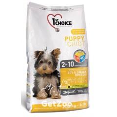 1st Choice Toy&Small Puppy Chicken Сухой корм для щенков мини и малых пород