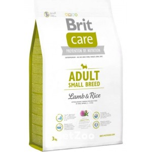 Brit Care Adult Small Breed Lamb & Rice Сухой корм  с ягненком и рисом для взрослых собак мелких пород