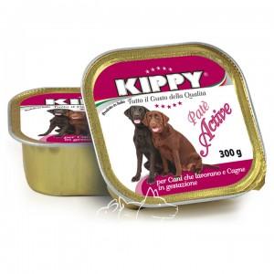 Kippy Active Киппи Курица, говядина и печень паштет для активных собак